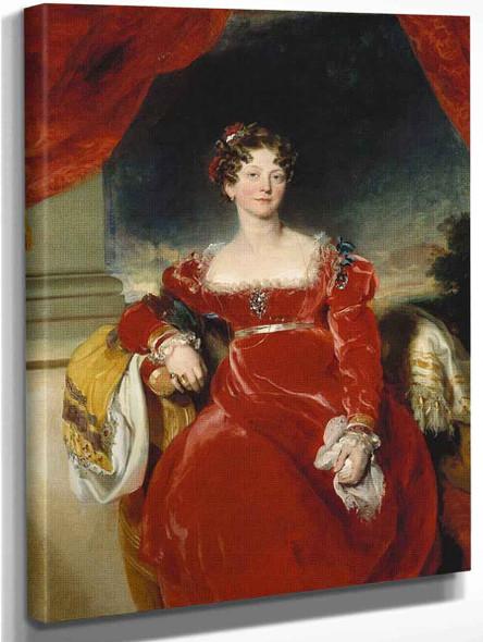 Princess Sophia  By Sir Thomas Lawrence