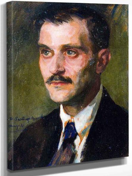 Retrato De Santiago Pedros By Jose Mongrell Torrent
