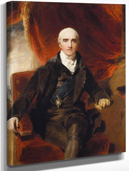 Richard Colley Wellesley, Marquess Of Wellesley  By Sir Thomas Lawrence