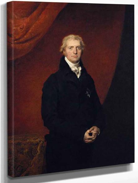 Robert Banks Jenkinson, 2Nd Earl Of Liverpool By Sir Thomas Lawrence