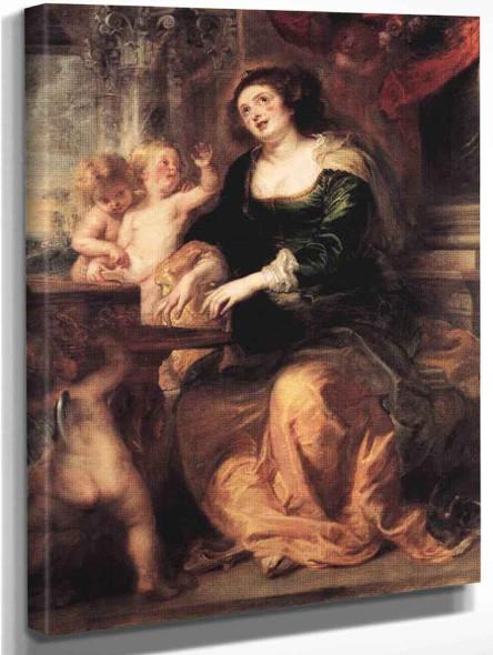 Saint Cecilia By Peter Paul Rubens