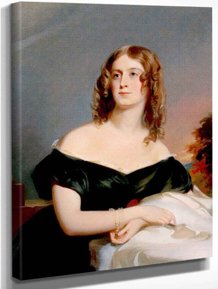 Sarah Emlen Roberts, Mrs. Harry Ingersoll By Thomas Sully