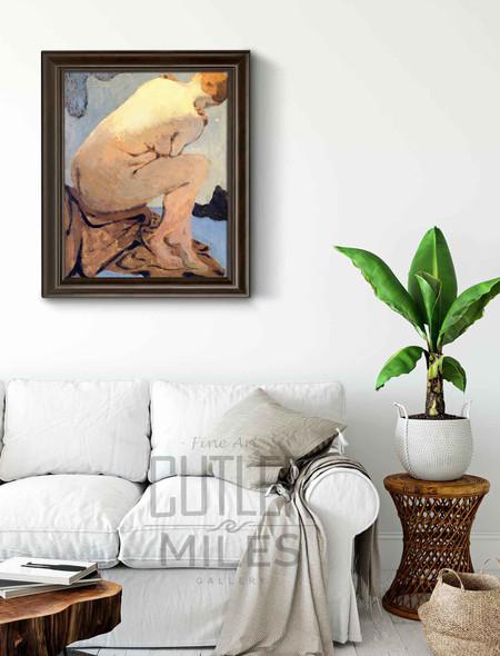 Seated Nude1 By Edouard Vuillard