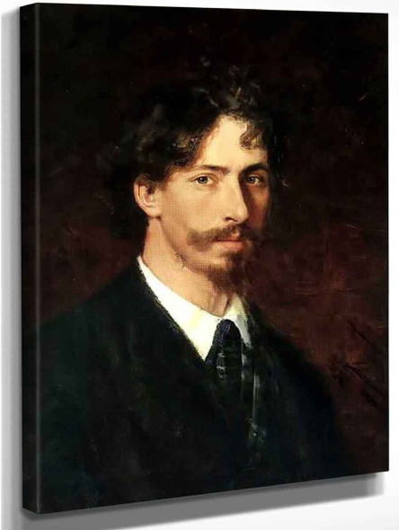 Self Portrait. 12 By Ilia Efimovich Repin