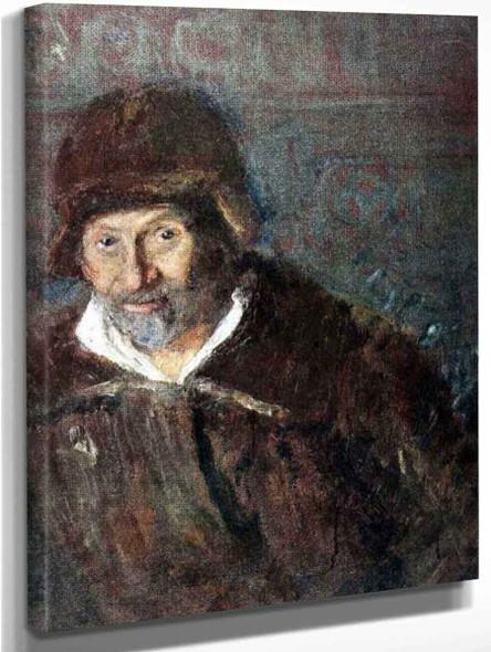 Self Portrait. 1 By Ilia Efimovich Repin