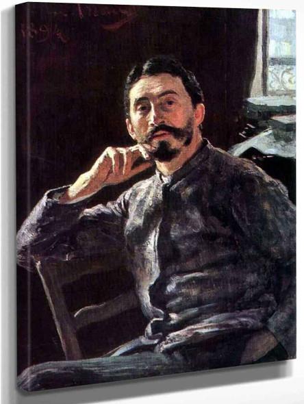 Self Portrait. 3 By Ilia Efimovich Repin