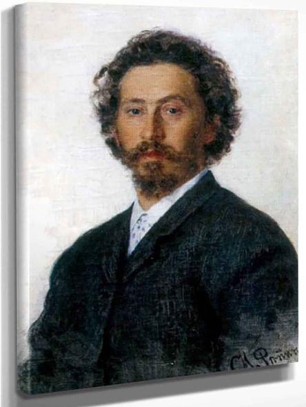Self Portrait. By Ilia Efimovich Repin