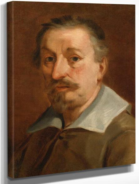 Self Portrait By Francesco Albani By Francesco Albani