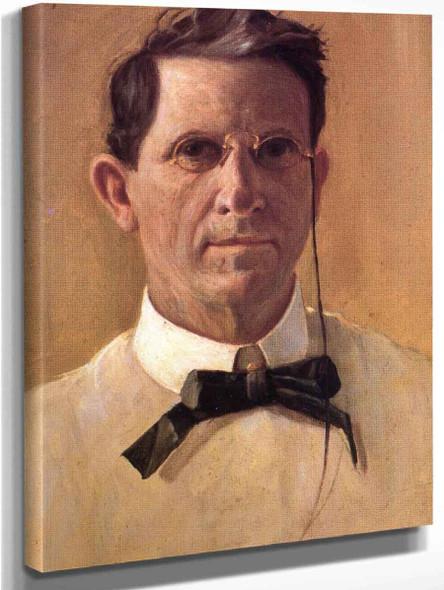 Self Portrait By Frank Coburn