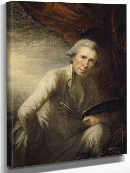 Self Portrait By George Romney