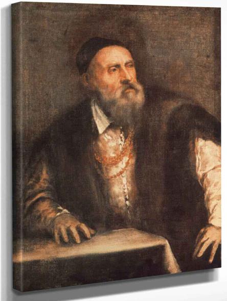Self Portrait By Titian