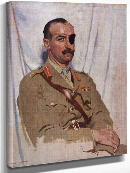 Sir Adrian Carton De Wiart By Sir William Orpen By Sir William Orpen