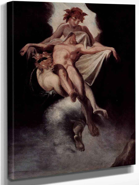 Sleep And Death Carrying Away Sarpedon Of Lycia By Henry Fuseli  By Henry Fuseli