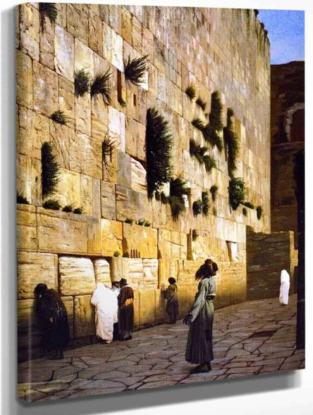 Solomon's Wall, Jerusalem By Jean Leon Gerome Art Reproduction