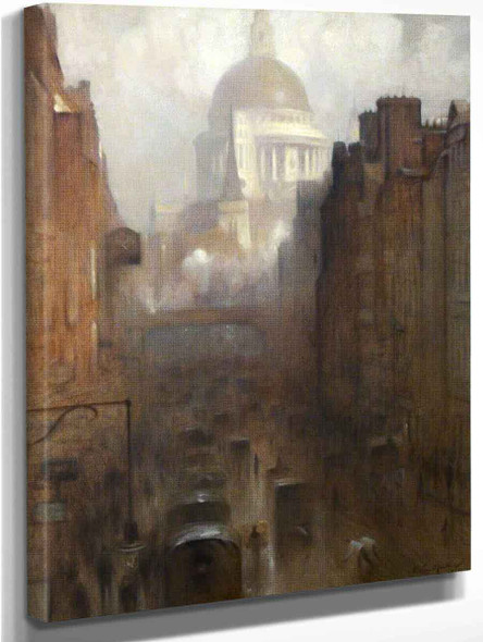 St Paul's Cathedral By Arthur Hacker By Arthur Hacker Art Reproduction