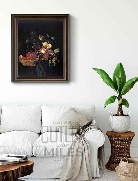 Still Life Of Fruits By Willem Van Aelst By Willem Van Aelst