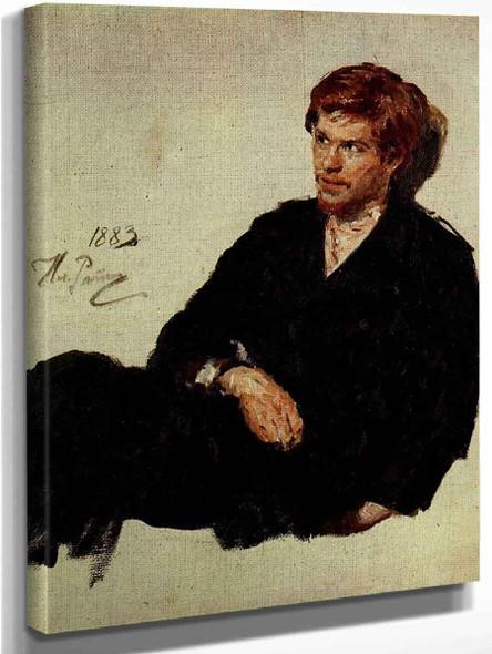 Student Nihilist . By Ilia Efimovich Repin