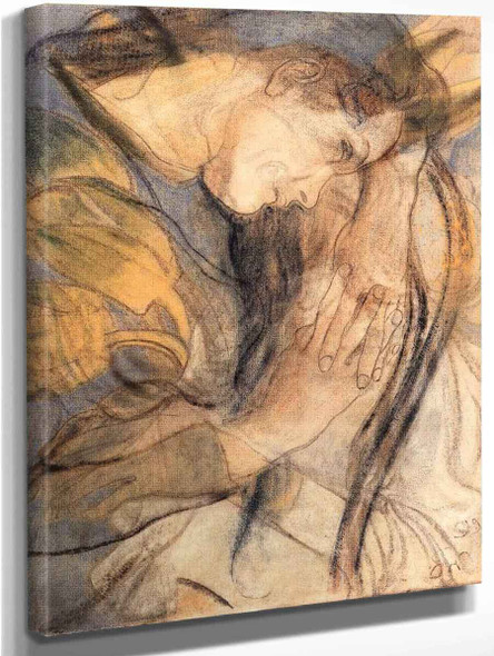 Study Of A Girl By Stanislaw Wyspianski