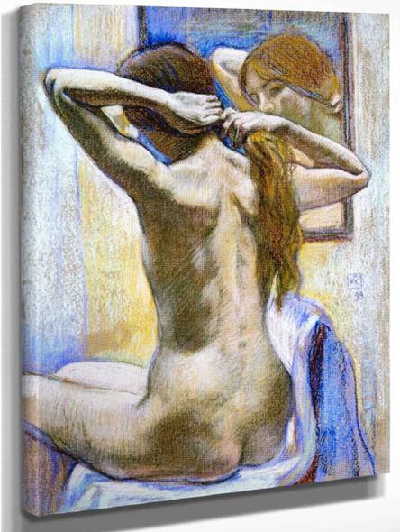 Study Of Nude By Theo Van Rysselberghe