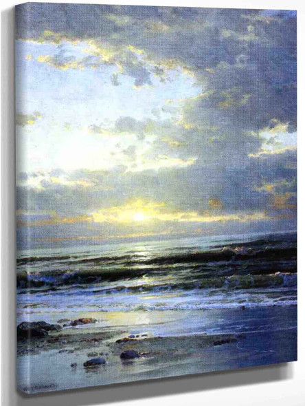Sunrise On The Beach By William Trost Richards
