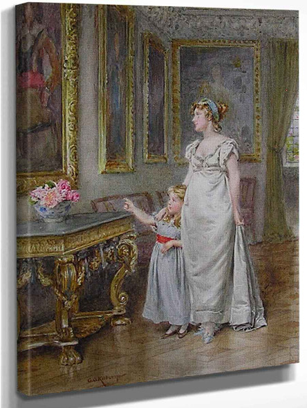 The Ancestor By George Goodwin Kilburne By George Goodwin Kilburne