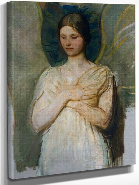 The Angel By Abbott Handerson Thayer