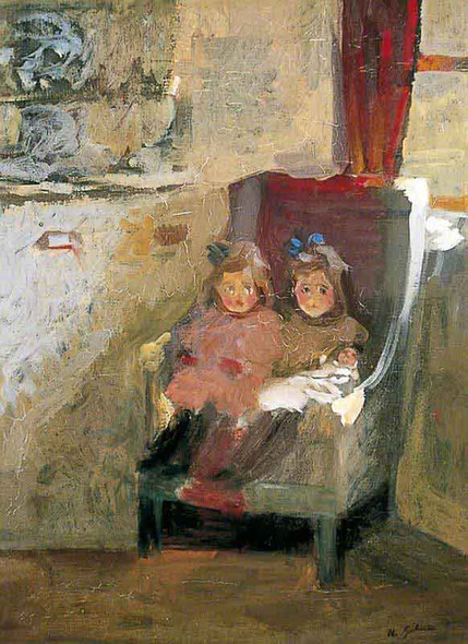 The Artist's Daughters By Harold Gilman