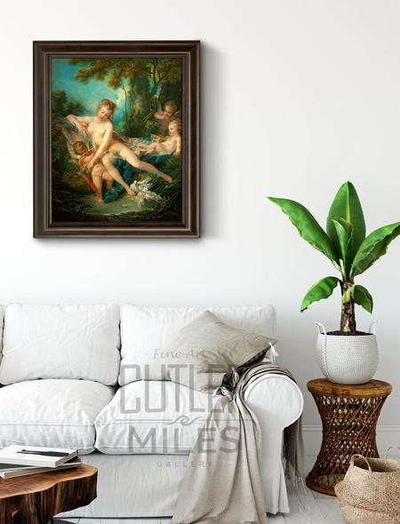 The Bath Of Venus By Francois Boucher