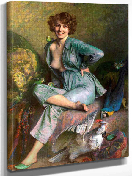 The Birds By Emile Friant