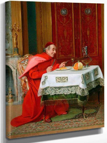 The Cardinal's Lunch By Georges Croegaert By Georges Croegaert Art Reproduction