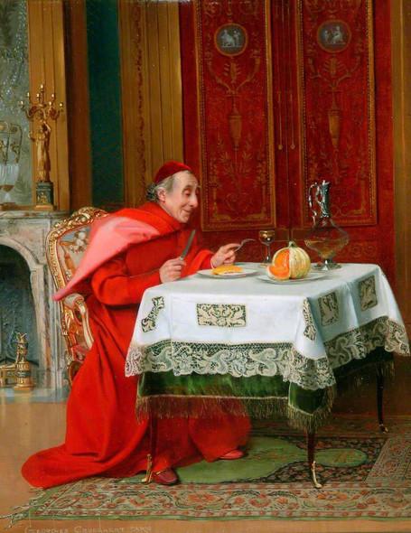 The Cardinal's Lunch By Georges Croegaert By Georges Croegaert