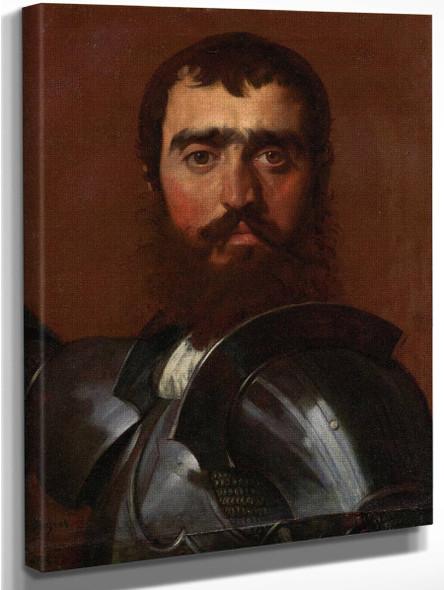 The Condottiere By Jean Auguste Dominique Ingres  By Jean Auguste Dominique Ingres