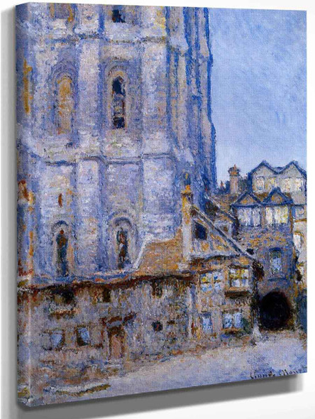The Cour D'albane By Claude Oscar Monet Art Reproduction