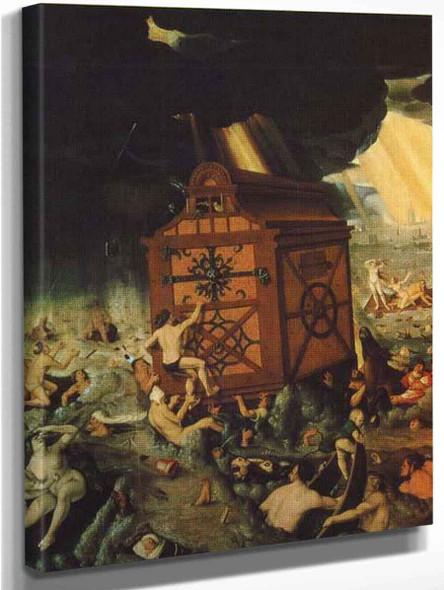 The Flood  By Hans Baldung Grien By Hans Baldung Grien