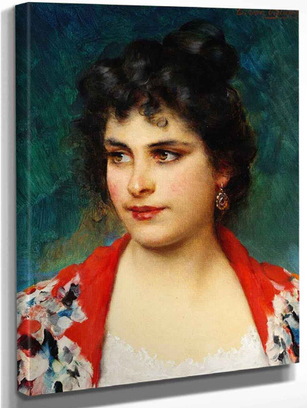 The Girl From Chioggia By Eugene De Blaas
