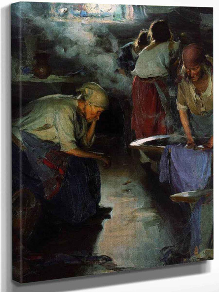 The Laundresses By Abram Efimovich Arkhipov