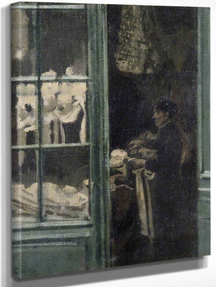 The Laundry Shop, Dieppe, France By Walter Richard Sickert By Walter Richard Sickert