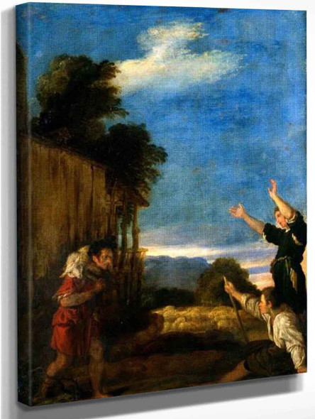 The Parable Of The Lost Sheep By Domenico Fetti