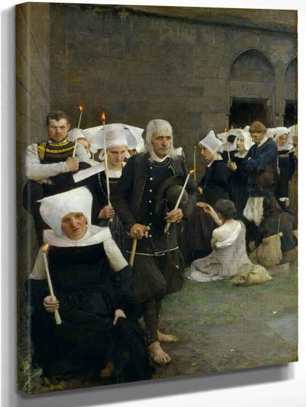 The Pardon In Brittany By Pascal Dagnan Bouveret
