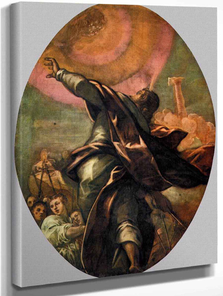 The Pillar Of Fire By Jacopo Tintoretto