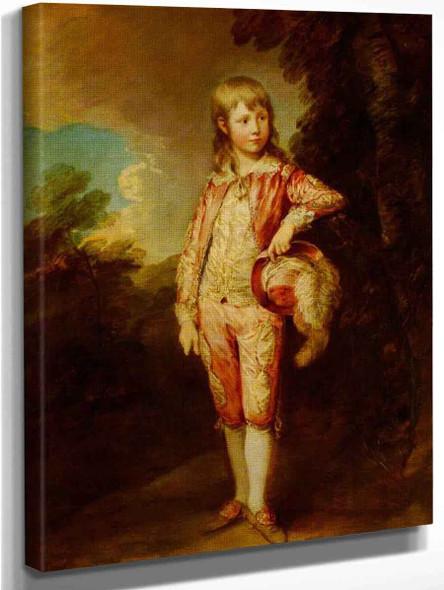 The Pink Boy By Thomas Gainsborough