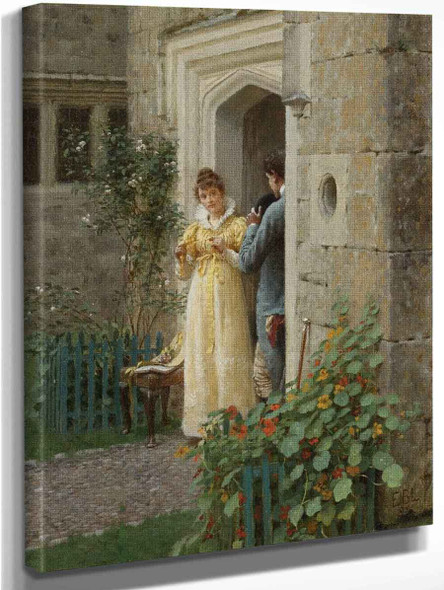The Request By Edmund Blair Leighton