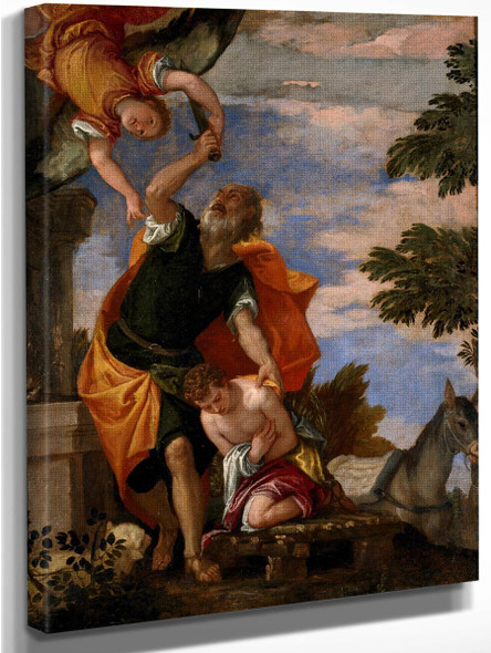 The Sacrifice Of Isaac By Paolo Veronese