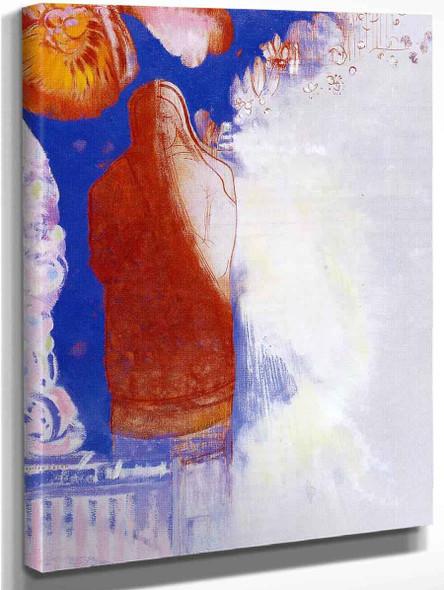 The Saint By Odilon Redon