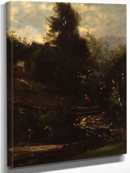 The Stream By William Morris Hunt