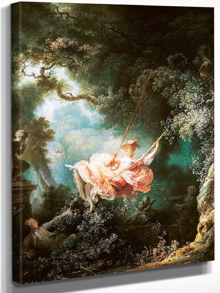 The Swing 1 By Jean Honore Fragonard
