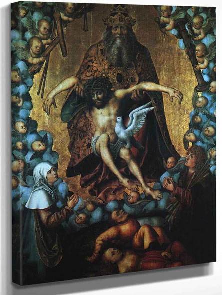 The Trinity By Lucas Cranach The Elder By Lucas Cranach The Elder