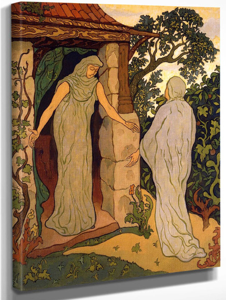 The Visitation By Paul Ranson