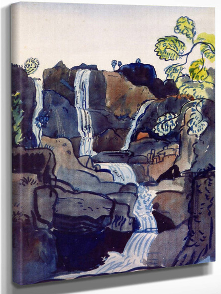 The Waterfall By James Dickson Innes