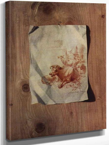Trompe L'oeil By Henry Fuseli Art Reproduction